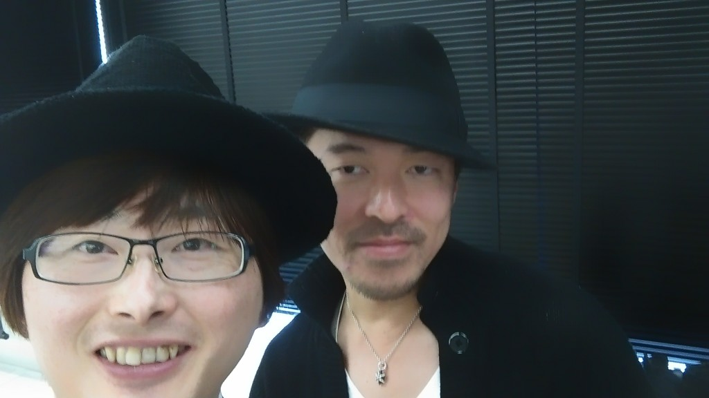 with 智堂さん