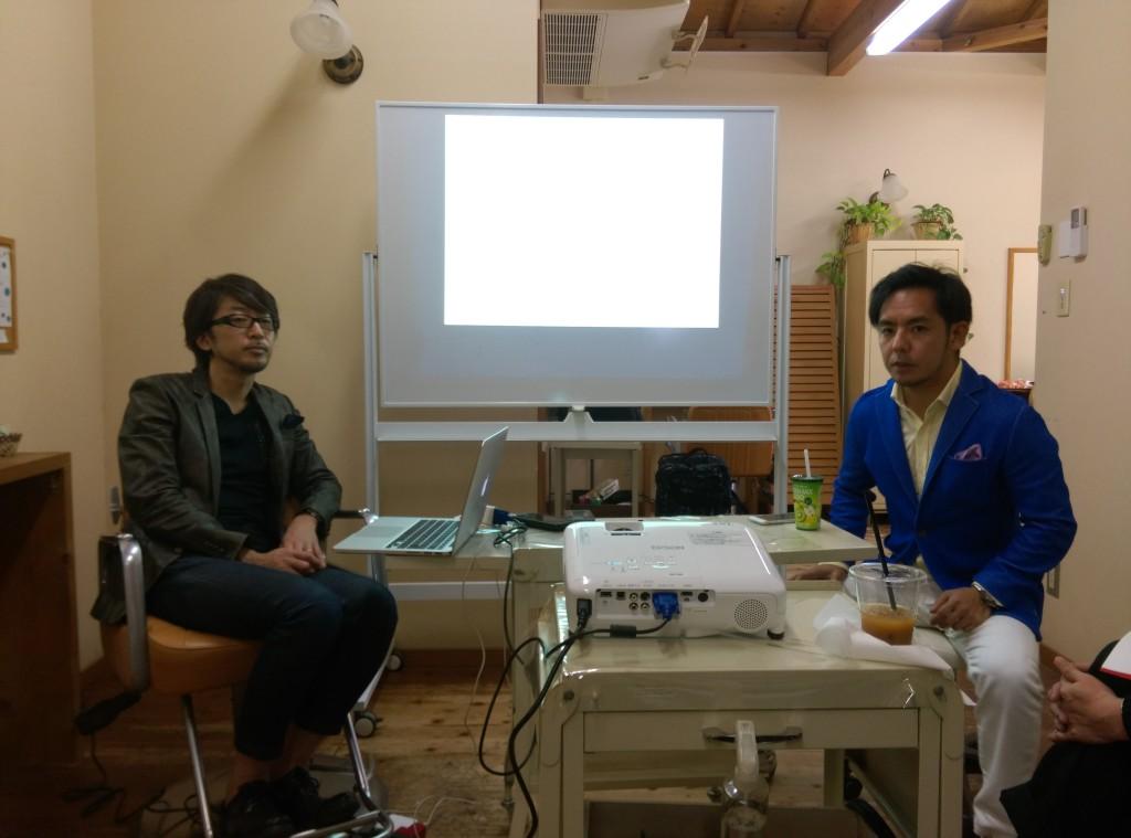 川戸さんと岡本さん