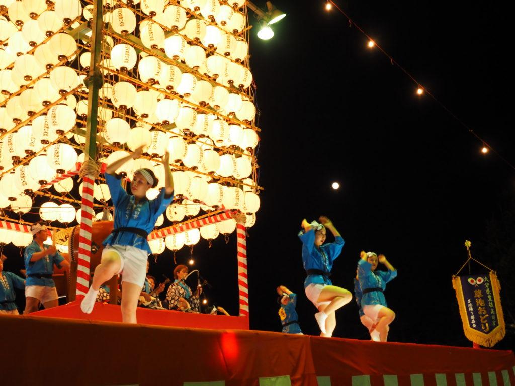 高田観光盆踊り2