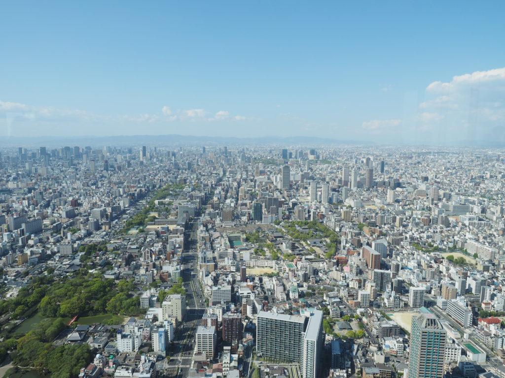 大阪市眺望